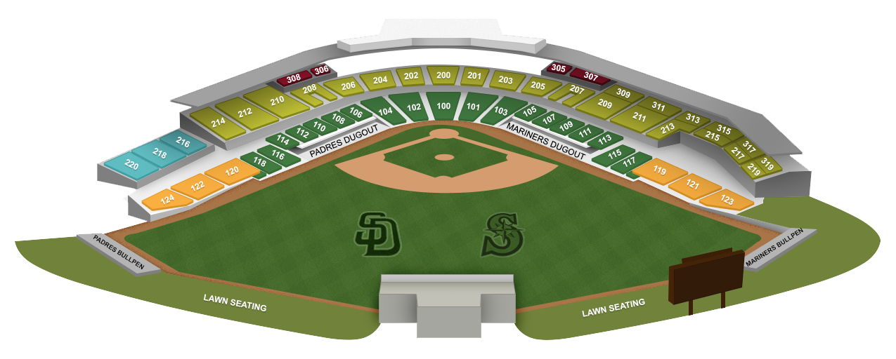 Peoria Sports Complex Illustration