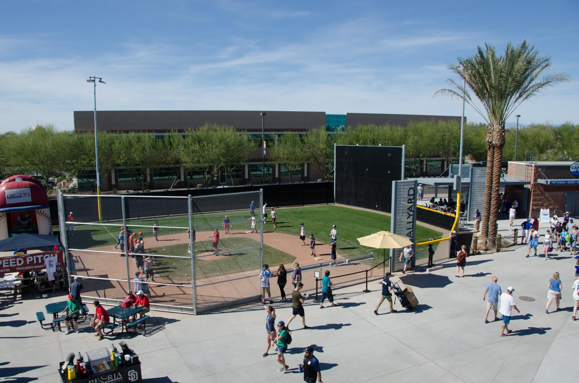 Child size baseball field at Peoria Sports Complex