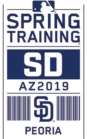 Padres Ticket 2019