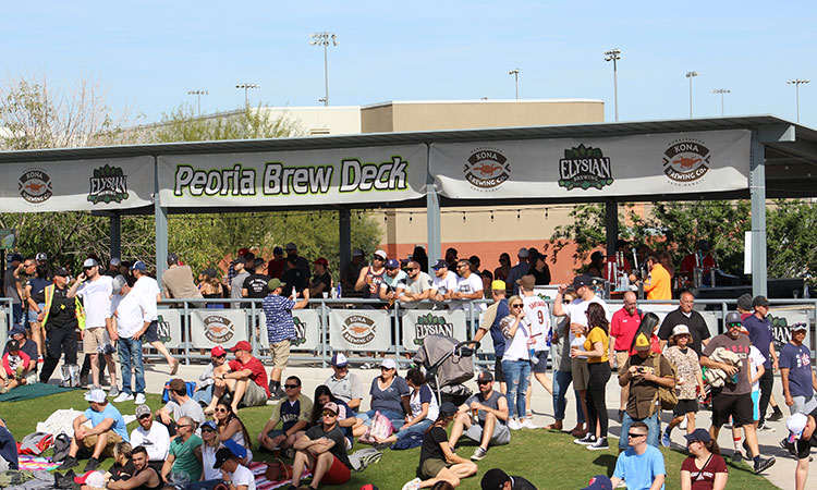 Sponsorship opportunities for your food and beverage business during games